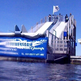 Waterjump Brouwersdam